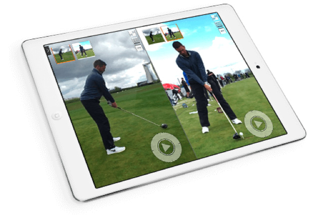 Trackman Model Swings tablet