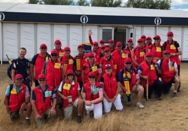 Open Championship Marshals
