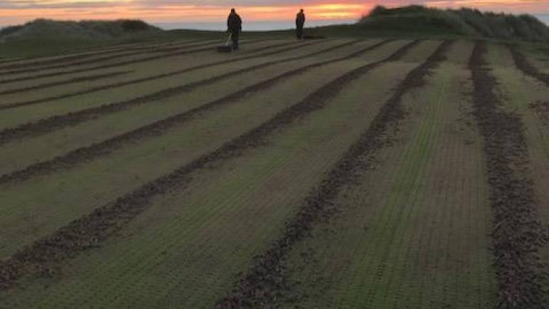Head Greenkeeper monthly report September 2018