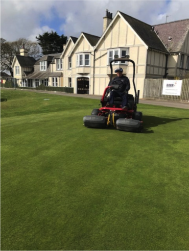 COVID 19 MOWING GREENS – MONDAY 20TH APRIL