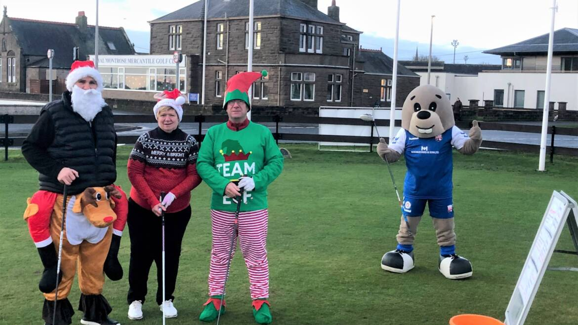 Santa Clauses do their bit for good cause